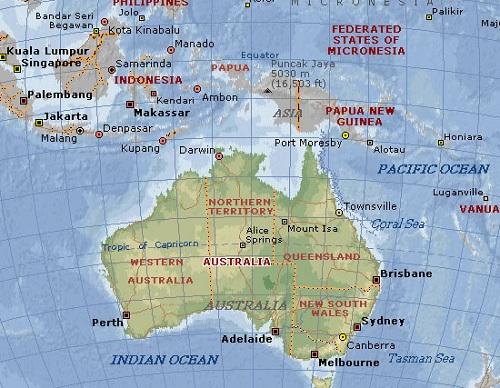 Australia Nu Se Mai Află In Locul Indicat De Hărțile Actuale